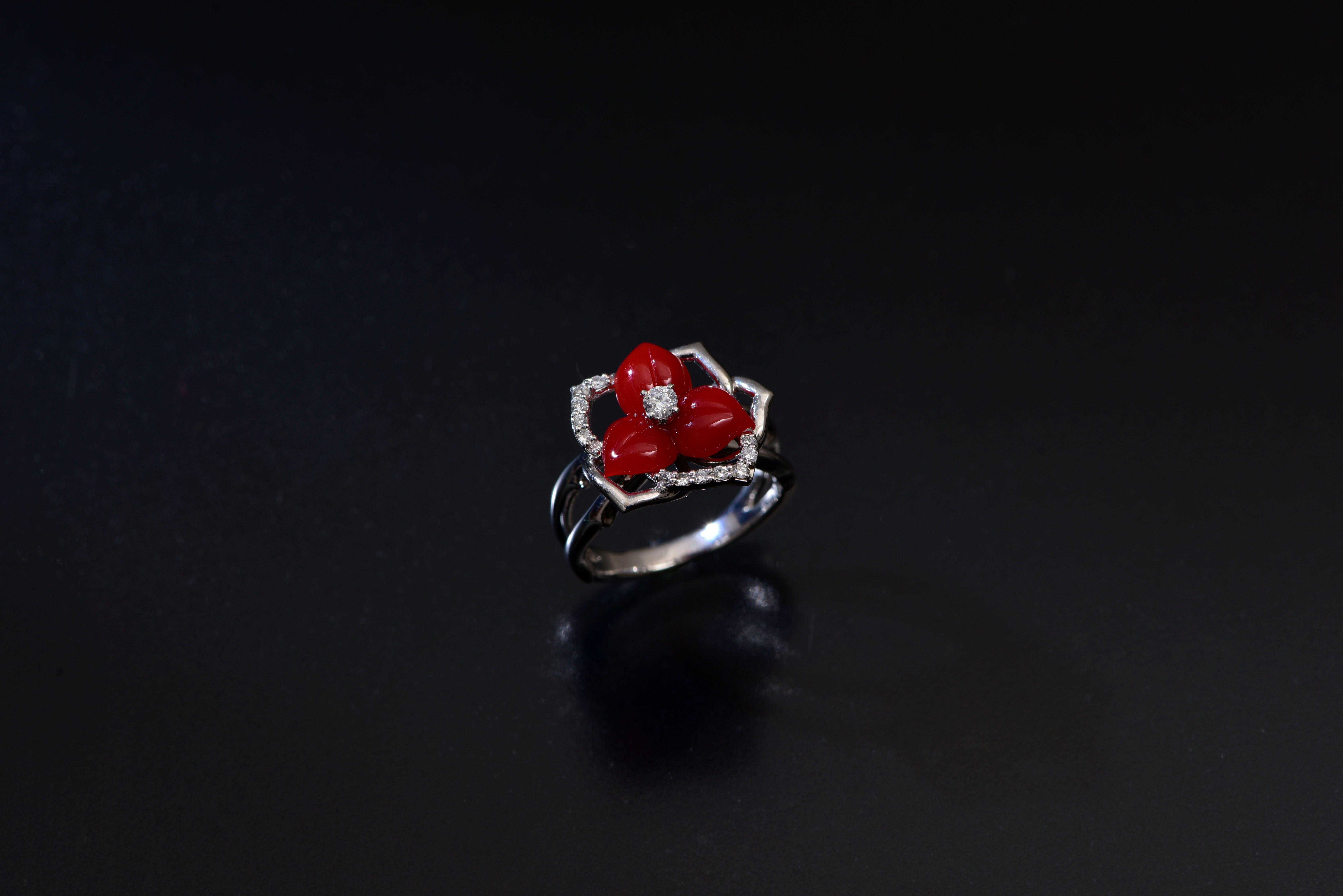 赤サンゴ・ダイヤ